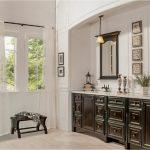 bathroom-cabinets-in-canton -ga-black-shiny-vanity