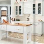 white-kitchen-cabinets-island-Canton-ga